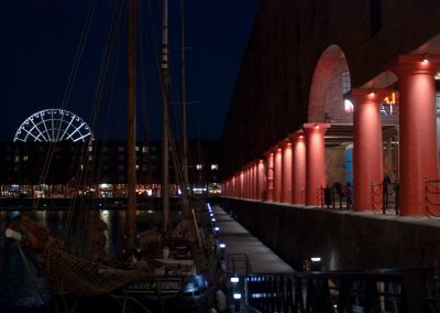 The Royal Albert Dock is the vibrant heart of Liverpool's historic waterfront.