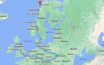 Our Cultures moving from England to Norway via Europe